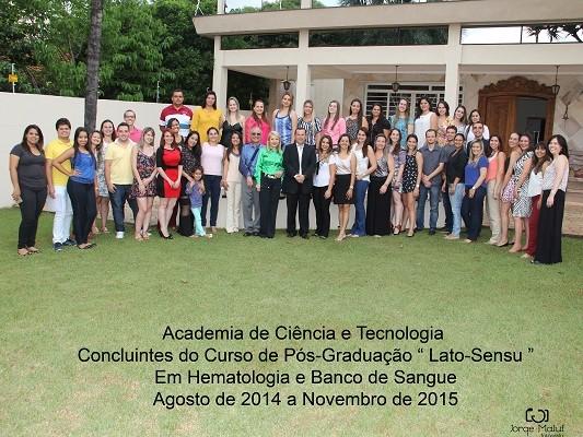 Academia de Ciencia 2015 - formandos