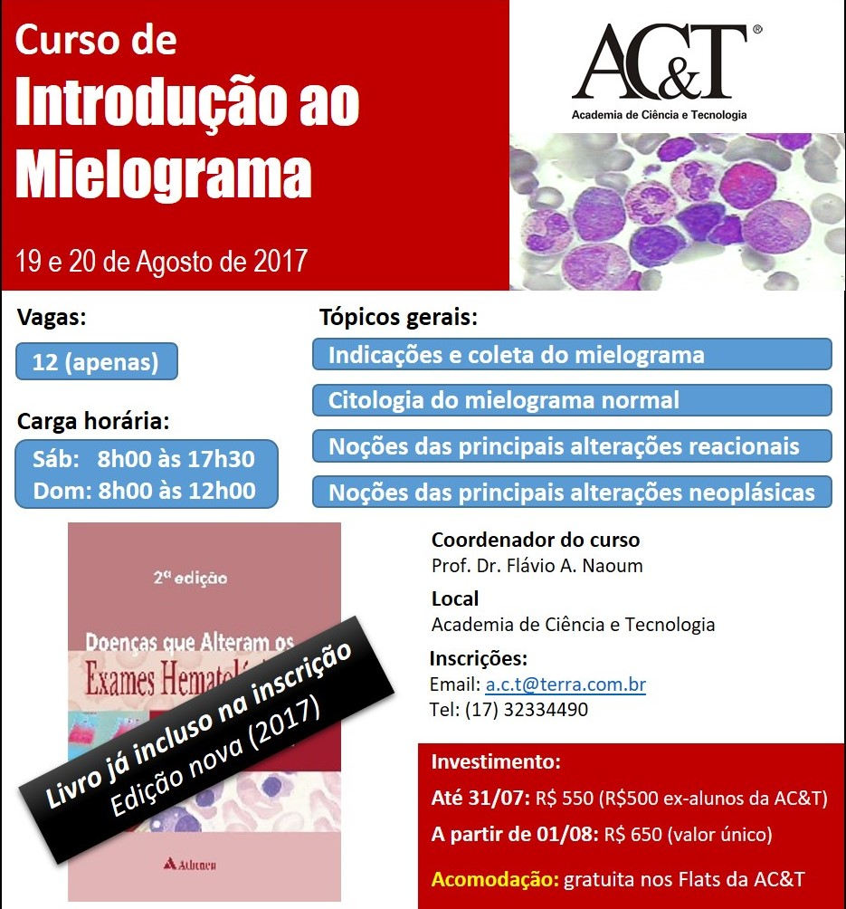 Curso de Mielograma - 2017